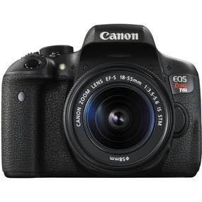 Canon EOS Rebel T6i - DSLR Camera Kit with EF-S 18-55mm f/3.5-5.6 IS STM lens