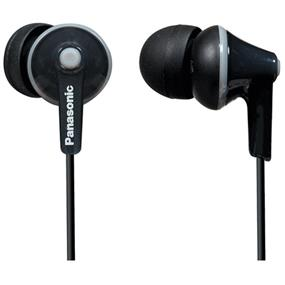 Panasonic RPTCM125 - ErgoFit In-Ear Headphones (Black)