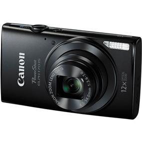Canon PowerShot ELPH 170 - IS Digital Camera (Black)