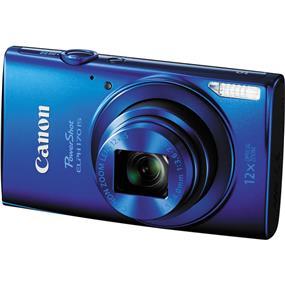 Canon PowerShot ELPH 170 - IS Digital Camera (Blue)