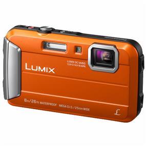 Panasonic Lumix DMC-TS30 - Digital Camera (Orange)