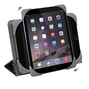 "Targus Fit N' Grip Universal  Rotating tablet case 7"" - 8"" - Black (THZ590CA)"