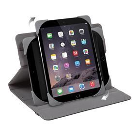 "Targus Fit N' Grip Universal  Rotating tablet case 9.7""-10.1""- Black (THZ592CA)"