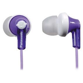 Panasonic RPHJE120 - In-Ear ERGO Fit Noise Isolating Headphone (Purple)