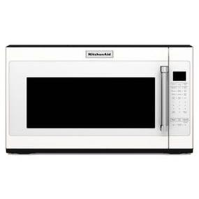 KitchenAid 30 Inch 1000-Watt Microwave with 7 sensor functions - White (YKMHS120EW)