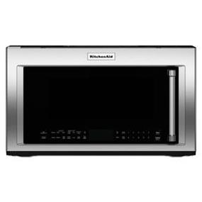 KitchenAid 30 Inch 1200-Watt Convection Microwave with high-speed cooking - Stainless Steel (YKMHP519ES)