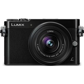 Panasonic Lumix DMC-GM5 - Mirrorless Micro Four Thirds Digital Camera with 12-32mm Lens (Open Box/Black)