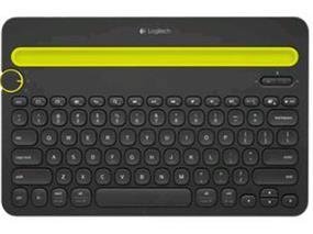 Logitech K480 Bluetooth Multi-Device QWERTY Keyboard Black (920-006342)