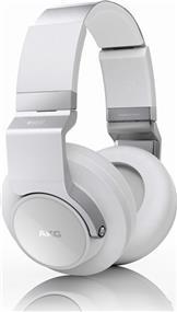 AKG K845BT - High performance Over-Ear Wireless Headphones w/ Bluetooth (White)