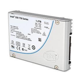 Intel SSD 750 Series 1.2TB  2.5''  PCI-Express Solid State Drive (SSDPE2MW012T4R5)