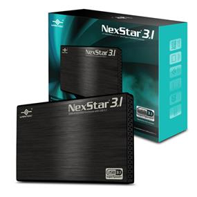 "Vantec NexStar 3.1 (NST-270A31-BK)2.5"" SATA 6Gb/s to USB 3.1 Gen II Type-A SSD/HDD Enclosure"