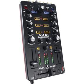 Akai Professional AMX - Mixing Surface and Audio Interface for Serato DJ
