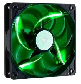 Cooler Master 120mm Green LED SickleFlow 2000 RPM Long Life Case Fan (R4-L2R-20AG-R2)