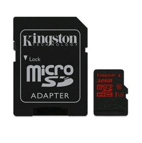 Kingston microSDHC 32GB (Class 10) micro Secure Digital Card Min speed 90MB/s read ,80MB/s write (SDCA3/32GB)