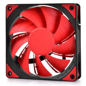 Deepcool Gamer Storm TF 120 Series 120mm Red LED Case Fan