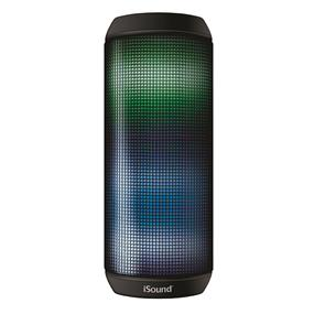 iSound - iGlowsound Tower Rechargeable Bluetooth Speaker