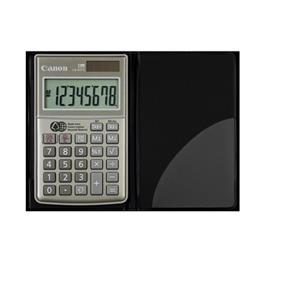 "Canon LS-63TG Handheld Calculator - 8 Digit(s) - LCD - Battery/Solar Powered - 0.4"" x 2.5"" (1076B002)"