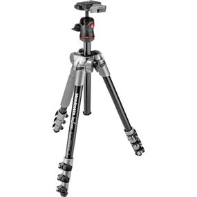 Manfrotto BeFree - Compact Travel Aluminum Alloy Tripod (Grey)