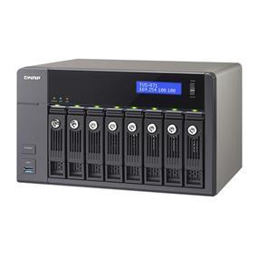 QNAP 8 Bay TVS-871-i3-4G Intel Core i3 4150 Dual Core 4GB