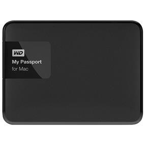 WD 3TB My Passport for Mac Portable External Hard Drive - USB 3.0 - WDBCGL0030BSL-NESN