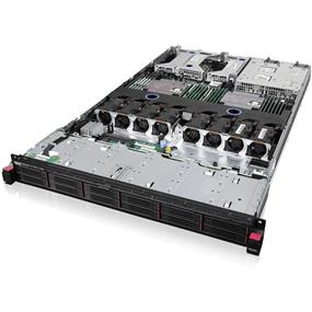 "Lenovo ThinkServer RD550 70CX - Server - rack-mountable - 1U - 2-way - 1 x Xeon E5-2670V3 / 2.3 GHz - RAM 8 GB - SAS - hot-swap 2.5"" - no HDD - AST2400 - no OS - Monitor : none (70CX0021UX)"