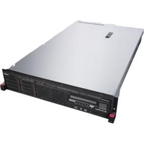 "Lenovo ThinkServer RD450 70DA - Server - rack-mountable - 2U - 2-way - 1 x Xeon E5-2640V3 / 2.6 GHz - RAM 8 GB - SATA - hot-swap 2.5"" - no HDD - DVD-Writer - AST2400 - GigE - no OS - Monitor : none (70DA0012UX)"
