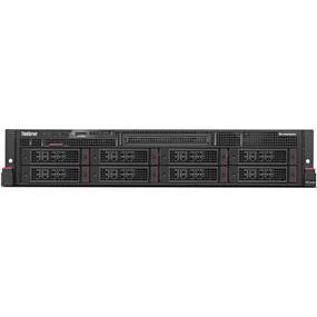 "Lenovo ThinkServer RD450 70DC - Server - rack-mountable - 2U - 2-way - 1 x Xeon E5-2650V3 / 2.3 GHz - RAM 8 GB - SATA - hot-swap 3.5"" - no HDD - DVD-Writer - AST2400 - GigE - no OS - Monitor : none (70DC001HUX)"