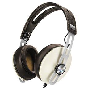 Sennheiser Momentum 2 - Lifestyle Around-Ear Hifi Headphones (iOS, Ivory)