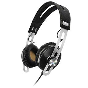 Sennheiser Momentum 2 - Lifestyle On-Ear Hifi Headphones (iOS, Black)