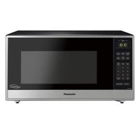 Panasonic NN-ST765S Family Size 1.6 cu. Ft. Cyclonic Inverter Countertop Microwave Oven - Stainless Steel (NNST765S)