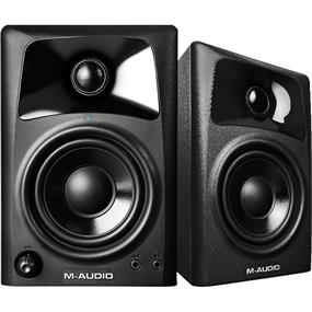 M-Audio AV32 - Compact Desktop Speakers for Professional Media Creation (Pair)