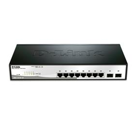D-Link 8 Ports DGS-1210-10 Gigabit Smart Switch with 2 SFP ports