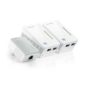 TP-LINK AV500/N300 TL-WPA4220NET Wi-Fi Range ExtenderPowerline Edition