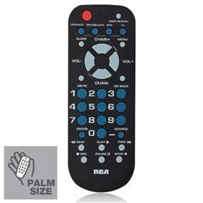 RCA (RCR504BR) - 4-in-1 Remote Control - Black
