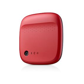 Seagate Wireless 500GB Red USB 3.0 Portable External Drive (STDC500402)
