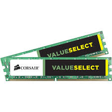 Corsair Value Select 16GB (2x8GB) DDR3 1600MHz CL11 DIMMs (CMV16GX3M2A1600C11)
