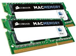 Corsair Apple Memory 16GB (2x8GB) 1600MHz DDR3L CL9 SODIMMs (CMSA16GX3M2A1600C11)