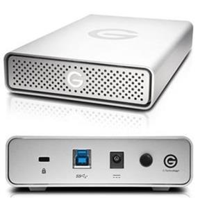 G-Technology G-DRIVE 2TB USB 3.0 7200rpm 64MB External Hard Drive (0G03902)