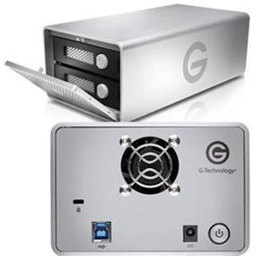 G-Technology G-Raid 12TB USB 3.0 7200rpm External Hard Drive (0G04077)