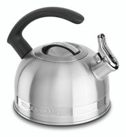 KitchenAid 2.0 Quart Kettle with Full Stainless Steel Handle and Trim Band - Stainless Steel Finish (KTST20SBST)