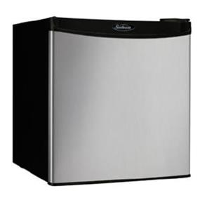 Sunbeam 1.7 cu.ft. Compact Refrigerator - Stainless Steel (SBCR017A1BSL)