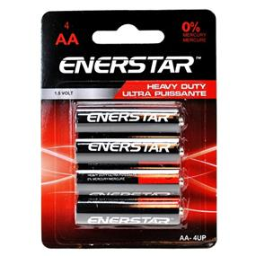 "Enerstar Ultra Power ""AA"" Battery, 4 pack (AA-4UP)"