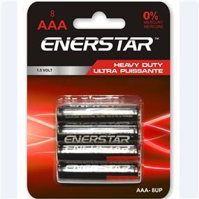 "Enerstar ""AAA"" Ultra Power Batteries, 8 pack (AAA-8UP)"