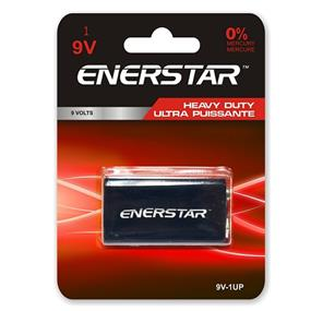 Enerstar Ultra Power Battery, 9V, 1 pack (9V-1UP)