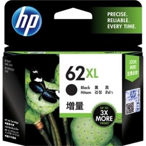 HP 62XL Black High Yield Original Ink Cartridge (C2P05AN)