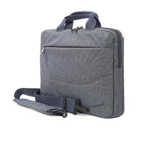 """Tucano Linea Ultraslim computer bag with two compartment and tablet pocket up to the 15.6"""" Laptop Size- Blue (BLIN15-B)"""