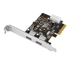 SIIG USB 3.1 2-Port PCIe  Host Adapters Type A (JU-P20912-S1)