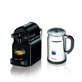 Nespresso Inissia Black & Aeroccino+ Bundle (A+D40-CA-BK-NE)