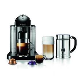 Nespresso VertuoLine Black & Aeroccino+ Bundle (A+GCA1-CA-BK-NE)