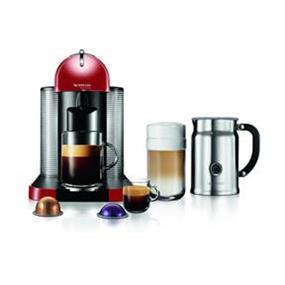 Nespresso VertuoLine Red & Aeroccino+ Bundle (A+GCA1-CA-RE-NE)